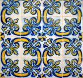 Tiles of Loios convent in Santa Maria da Feira royalty free stock images