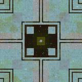 Tiles mosaic generated seamless texture Stock Photos