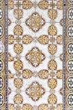 Tiles with orange tones Stock Image