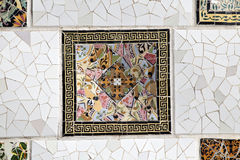 Tiles Parc Guell Stock Photo