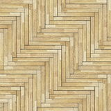 Tiles of parquet floor Stock Photos