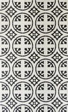 Tiles pattern. Black and white tiles pattern Royalty Free Stock Image
