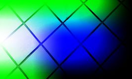 Tiles pattern with blurred shaded Green white blue colors wallpaper background stock illustration