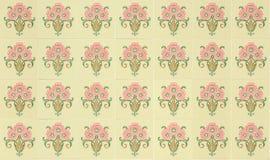 Tiles Peranakan style stock photos