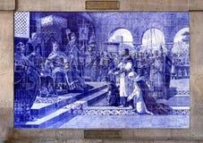 Tiles of Porto Stock Photos