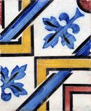 Tiles from Porto, Portugal Royalty Free Stock Photo