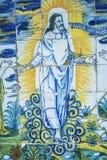 Tiles Resurrected Jesus Basilica del Prado of Talavera de la Rei Stock Photos