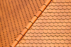 Tiles roof Stock Photography