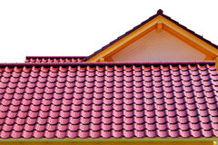 Tiles roof stock images