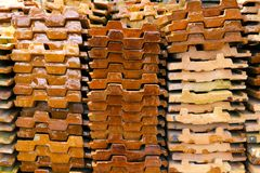 Tiles of roof Stock Photography