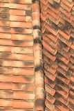 Tiles on a roof Royalty Free Stock Photo
