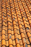 Tiles roof old background vintage Royalty Free Stock Photos