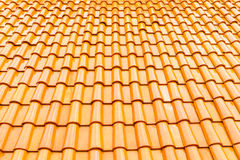 Tiles roof. Top view Stock Photo