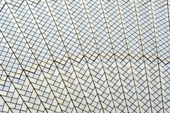 Tiles on the roof of Sydney Opera House Royalty Free Stock Images