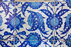 Tiles in Rustem Pasa Mosque, Istanbul Royalty Free Stock Image
