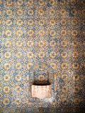 Tiles of Santa Maria de Marvila Royalty Free Stock Image