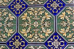Tiles, Seville, Spain. Tiles mosaic in Alcazar palace, Seville, Spain Stock Photography