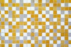 Tiles. Small mosaic tiles at wall Stock Photos