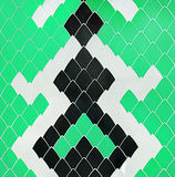Tiles Snake Design Pattern Background Royalty Free Stock Photo