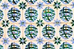 Tiles symmetry Stock Image