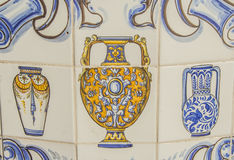 Tiles, Talavera pottery Royalty Free Stock Images
