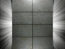 Tiles texture 3d presentation Royalty Free Stock Images