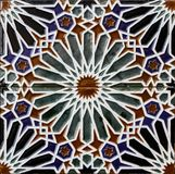 Tiles from Toledo, Spain. Close up view at Tiles from Toledo, Spain Stock Photo