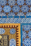 Tiles at Topkapi Palace Stock Photography