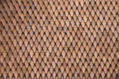 Tiles of Traditional Wooden Roof Background Stock Photo