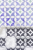 Tiles unassembled Royalty Free Stock Images