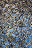 Tiles used on pavements and promenades in Lisbon. Portugal Stock Image
