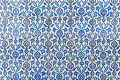 Tiles of walls of New mosque in Fatih, Istanbul Royalty Free Stock Image