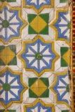 Tiles on walls of royal palace 8 stock photos