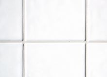 tiles white Arkivfoto