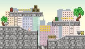 Tileset 2 de jeu illustration libre de droits