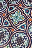 Tilework marocain de mosaïque Photos libres de droits