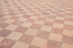 Tileworkvloer in Taj Mahal royalty-vrije stock afbeeldingen