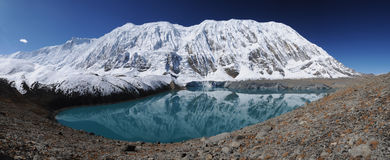 Tilicho lake, Nepal Royalty Free Stock Photography