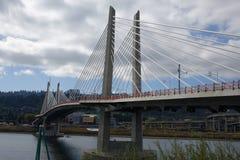 Tilikum-Überfahrt - Portland, Oregon Stockbilder