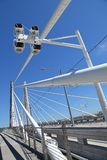 Tilikum-Brücke, Portland Oregon Lizenzfreie Stockfotos