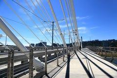 Tilikum-Brücke, Portland Oregon Lizenzfreies Stockbild