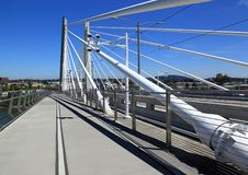 Tilikum-Brücke, Portland Oregon Lizenzfreie Stockfotografie