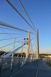 Tilikum korsning bro i Portland Arkivfoton
