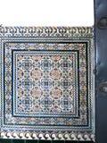 Tiling в площади de Espana в Севилье был построен для Exposicion 1929 Ibero-Американа Стоковое Фото