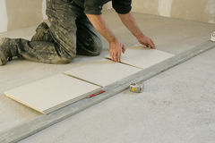 tiling стоковое фото