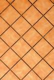 Tiling. Details of brown tiling background Stock Images