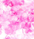 Tiling pink polygons Stock Photo