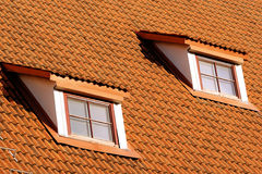 Free Tiling Roof With Windows Royalty Free Stock Photo - 16854695