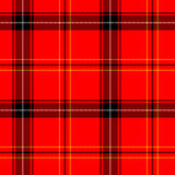 Tiling tartan Stock Photo