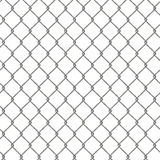 Tiling texture of barbed wire fence. Royalty Free Stock Images